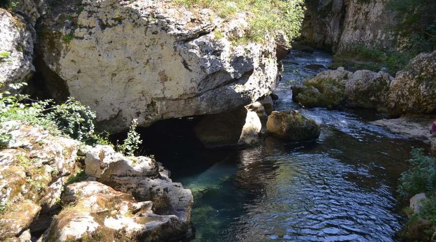 baignade proche du gîte source de la vis