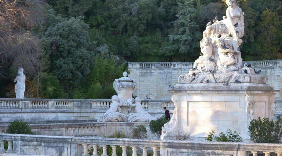 accueil de groupes pres des jardins de la fontaine nimes