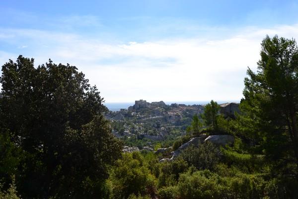 vue baux de provence